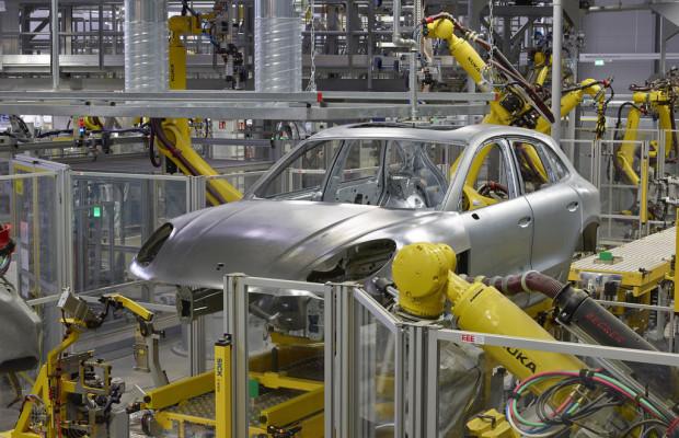 Porsche weiht Macan-Werk ein