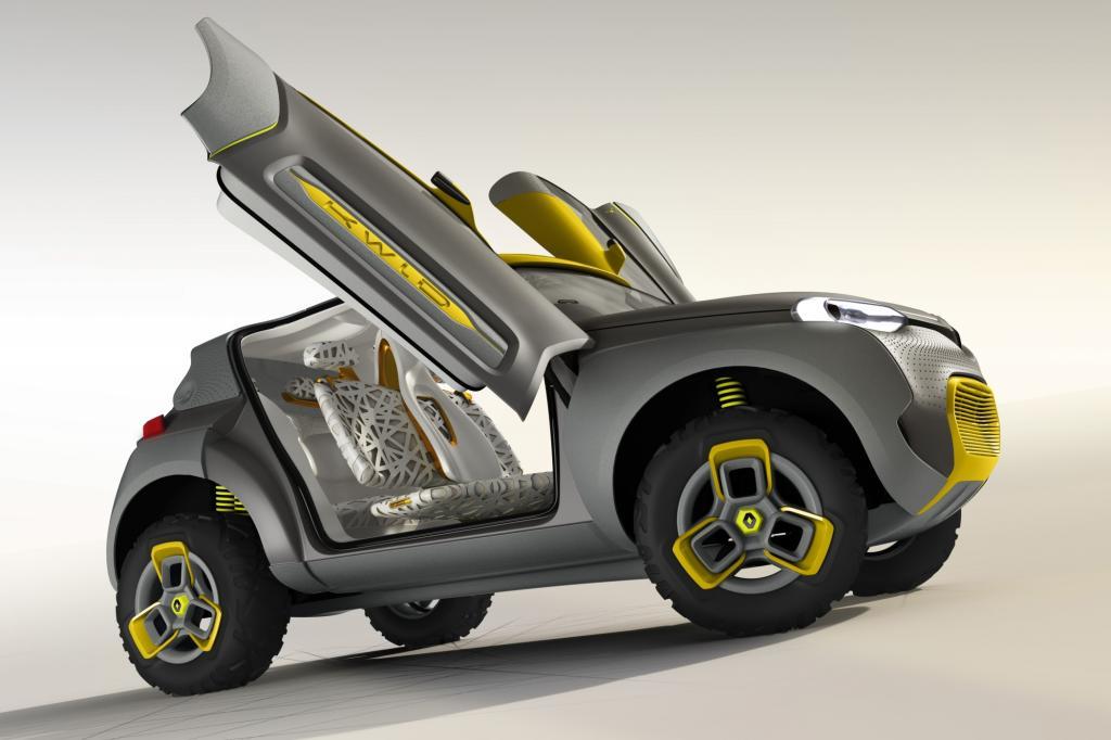 Renault Kwid Concept - Lifestyle-Mobil für Indien
