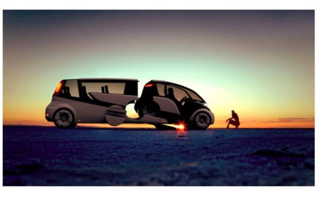 Split and go: Variables Fahrzeugkonzept - Zwei in einem