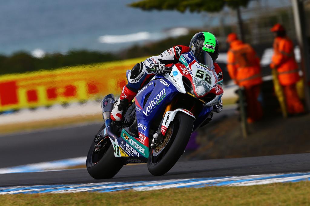 Suzuki gewinnt Superbike-Auftakt