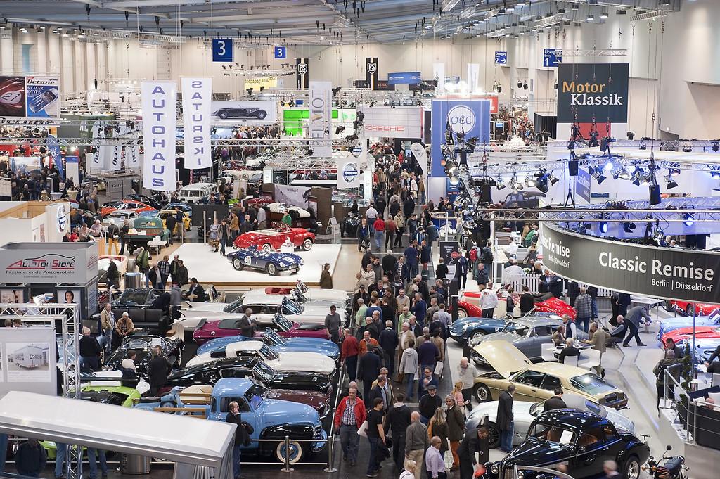 Techno Classica 2014: Die größte Oldtimer-Messe der Welt