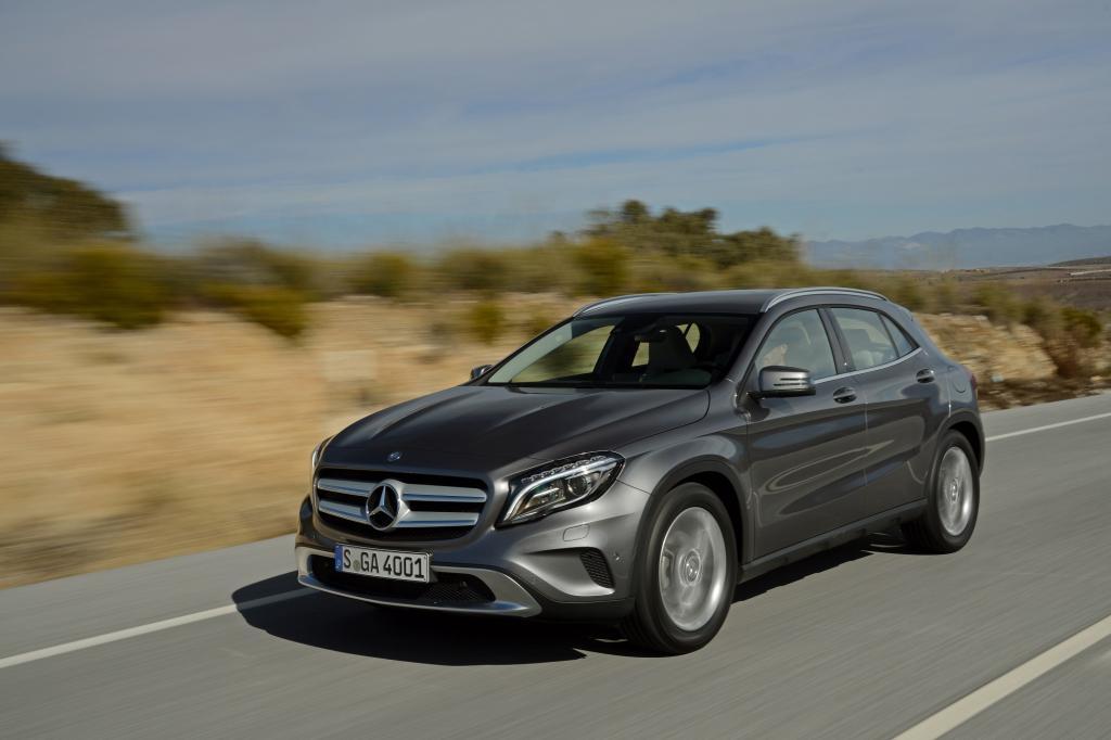 Test Mercedes GLA - Zwischen Ponyhof und Promenade
