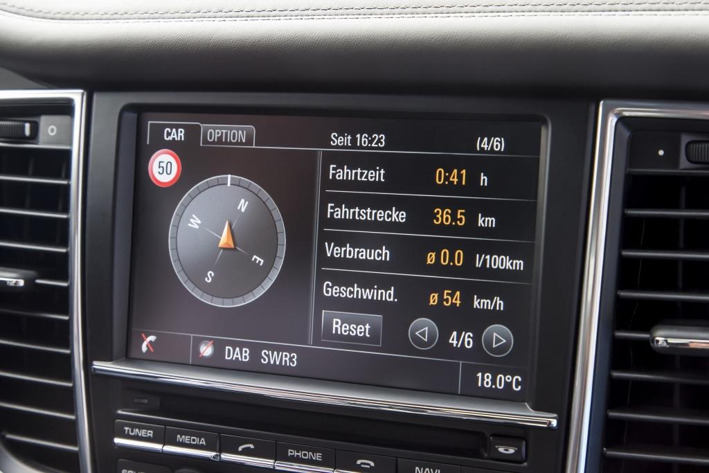Test: Porsche Panamera S E-Hybrid - Das städtische Grün