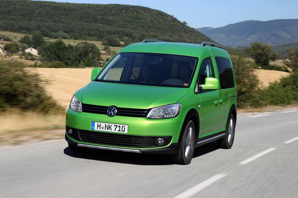 Test: VW Cross Caddy  - Nichts für farbenblinde Knauser