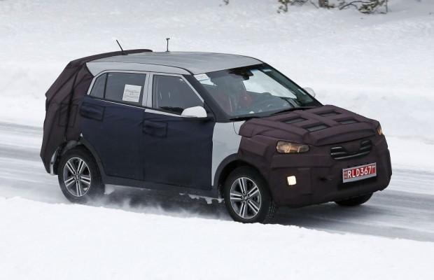 UPDATE: Erwischt: Erlkönig Hyundai iX25