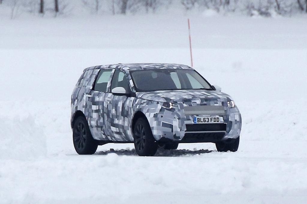 UPDATE!!! Erwischt: Erlkönig Land Rover Baby Discovery oder Freelander