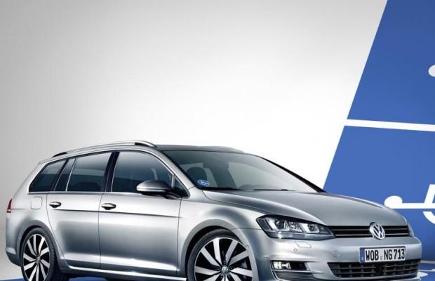 VW Golf Variant mit Fahrhilfen ab Werk