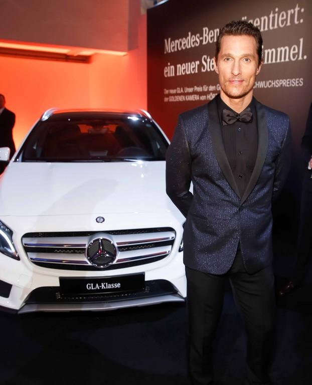 """Verleihung der """"Goldenen Kamera"""": Matthew McConaughey."""
