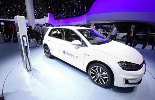 Volkswagen E-Golf ab sofort bestellbar