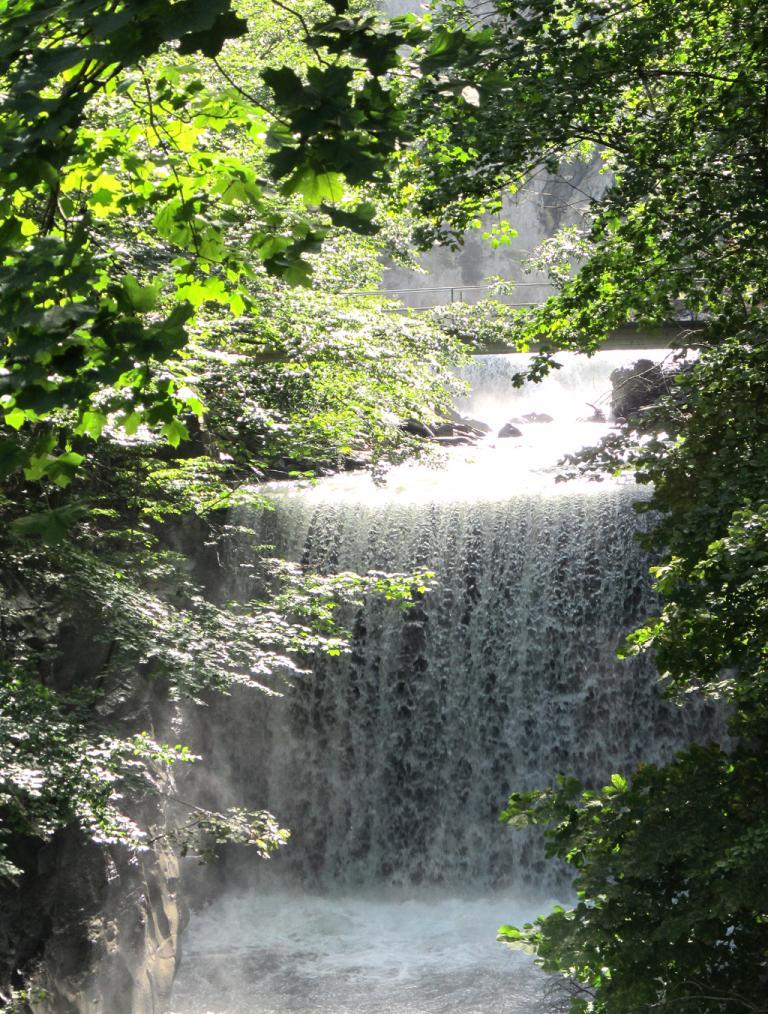 Wasser spielt in Bad Ragaz und Umgebung eine große Rolle.