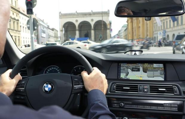 Werbung über Navis im Auto