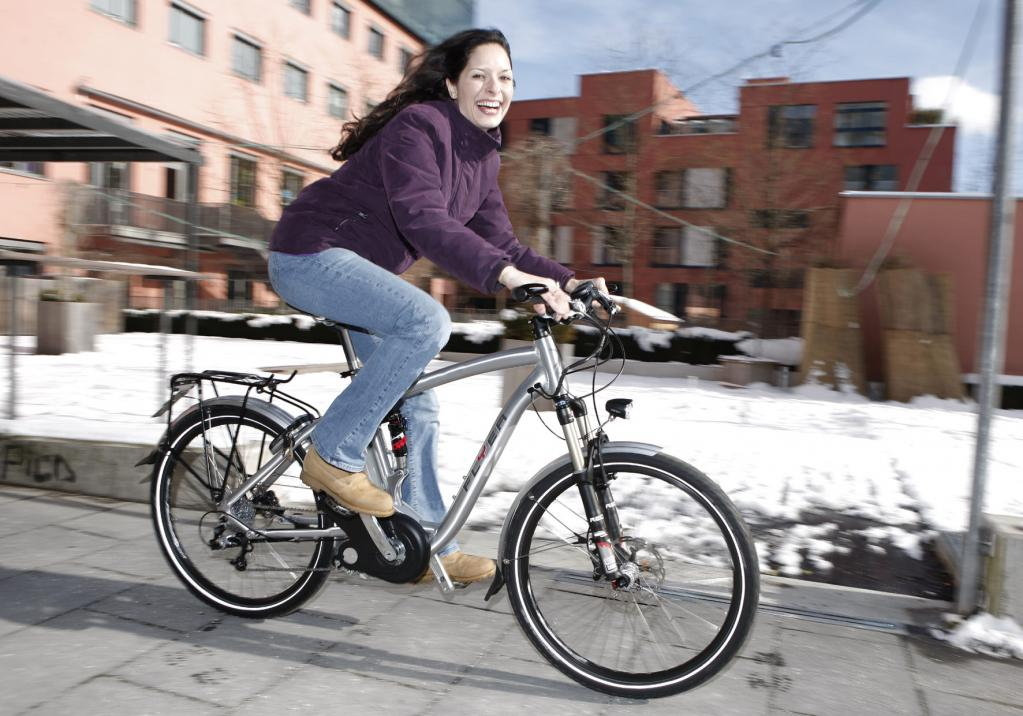 Zu schwer fürs Elektro-Fahrrad