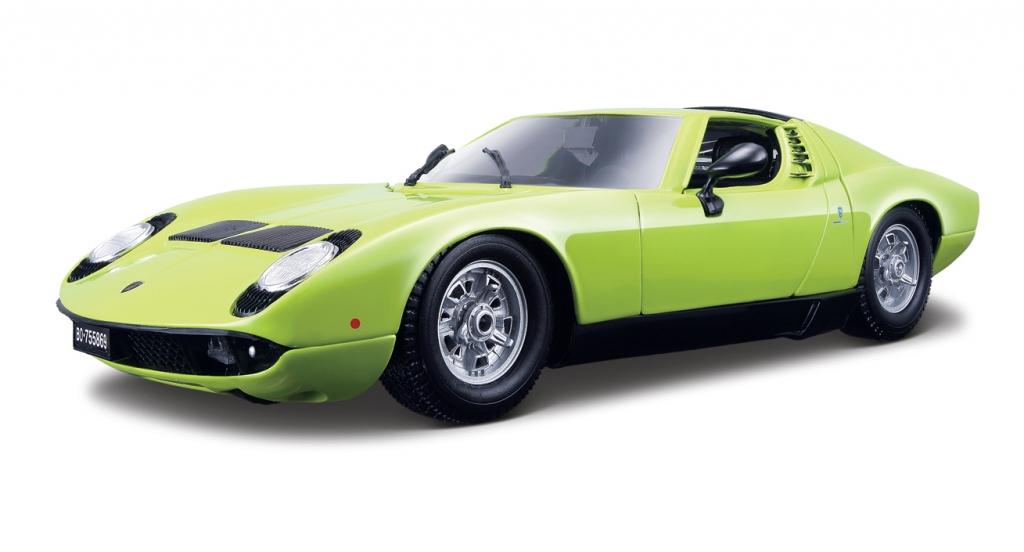 auto.de-Ostergewinnspiel: Lamborghini Miura Modellauto von Bburago