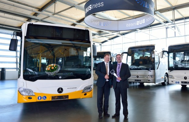 1000ster Mercedes-Benz Citaro Euro VI ausgeliefert