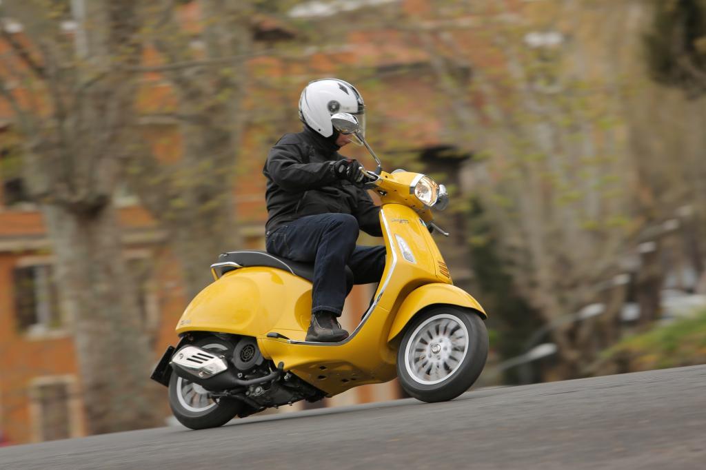4.250 Euro kostet die Vespa Sprint