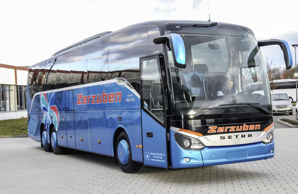500 Setra für Schweizer Busunternehmen