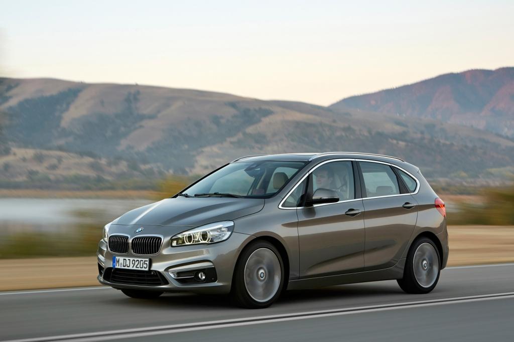 Ab Herbst 2014 im Handel: Den Active Tourer von BMW gibt es auch mit Dreizylinder-Motor. © BMW