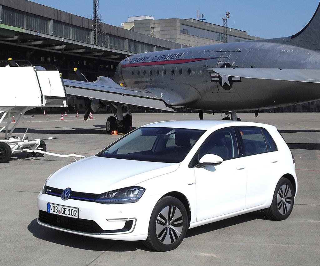 Aktuelle Produktneuheit: Der E-Golf von VW kommt im Sommer.
