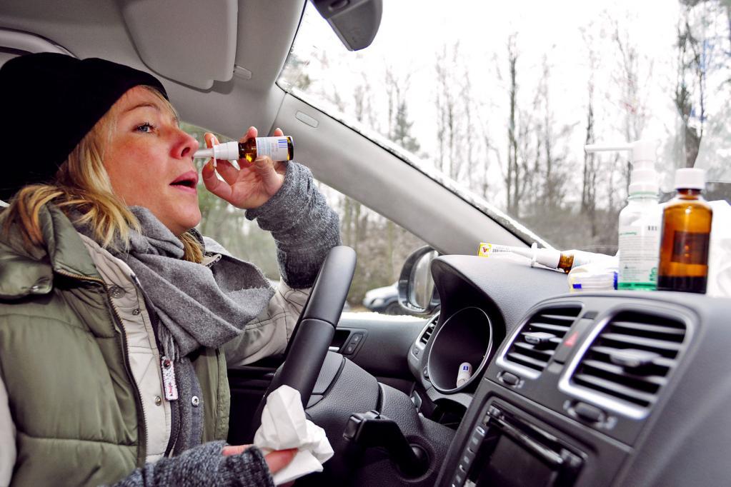 Allergiker: Notfalls das Auto stehen lassen
