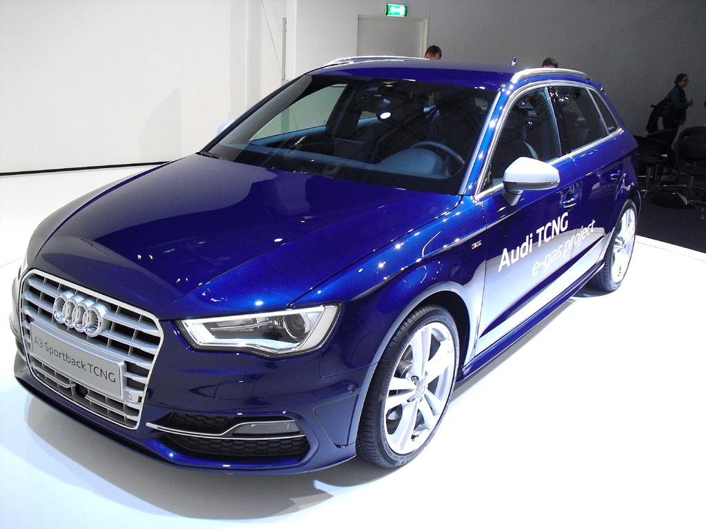 Auch Gas, hier Audi A3 Sportback TCNG, hat noch vielfältige Potenziale. Foto: Koch/Quelle: