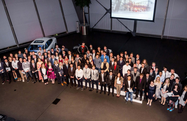 Audi-Azubis starten ins Berufsleben