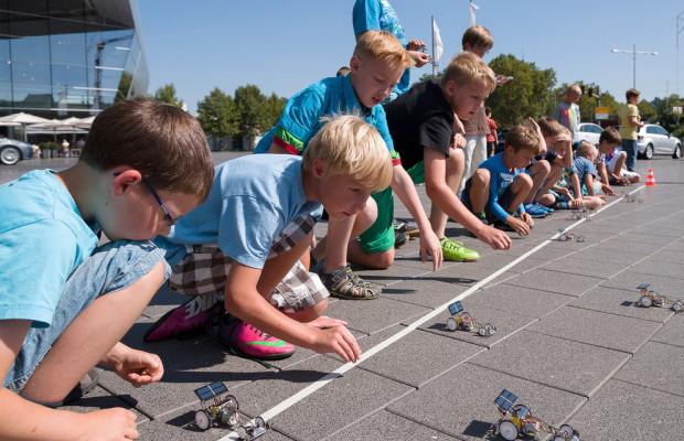 Audi-Forum Neckarsulm bietet Kinderprogramm