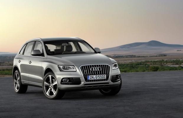 Audi Q5 surft auf hoher Welle