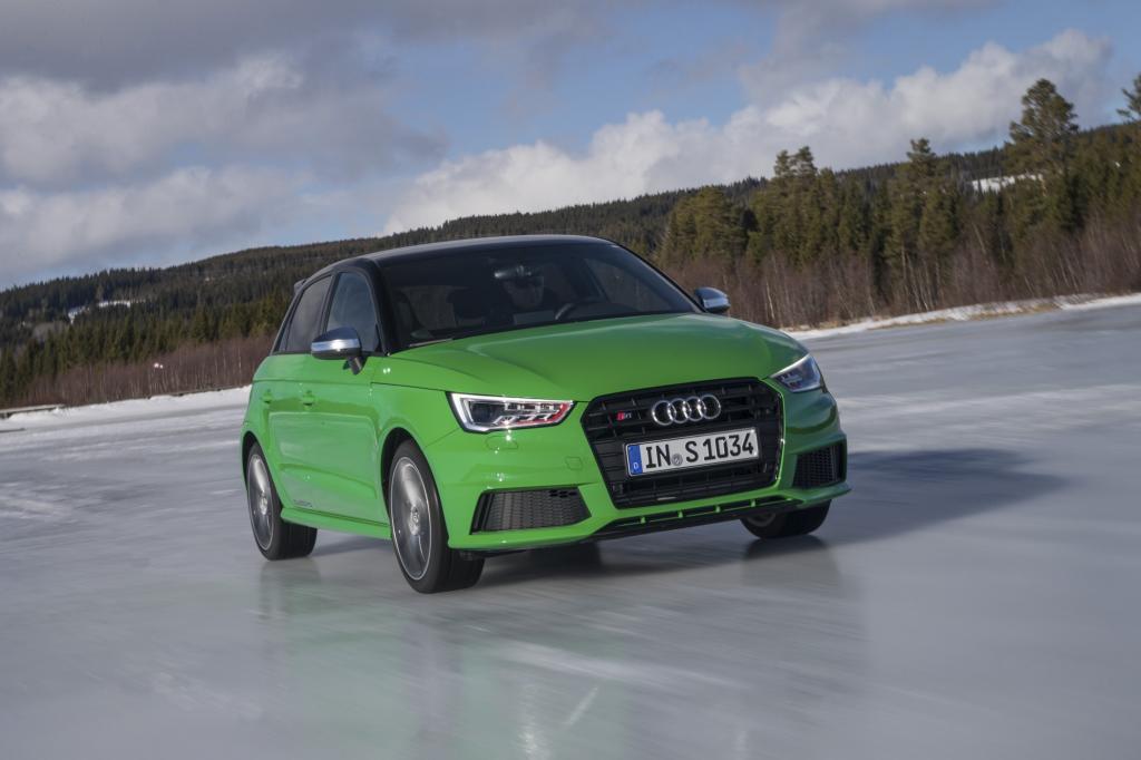Audi S1 - S steht für scharf