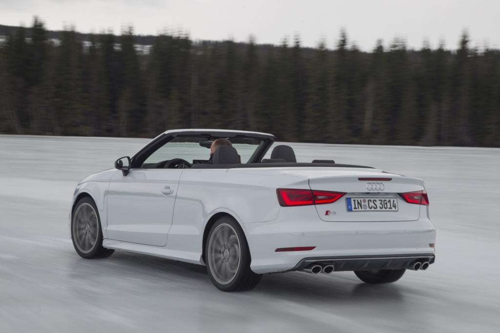 Audi S3 Cabriolet - Die S-aison ist eröffnet
