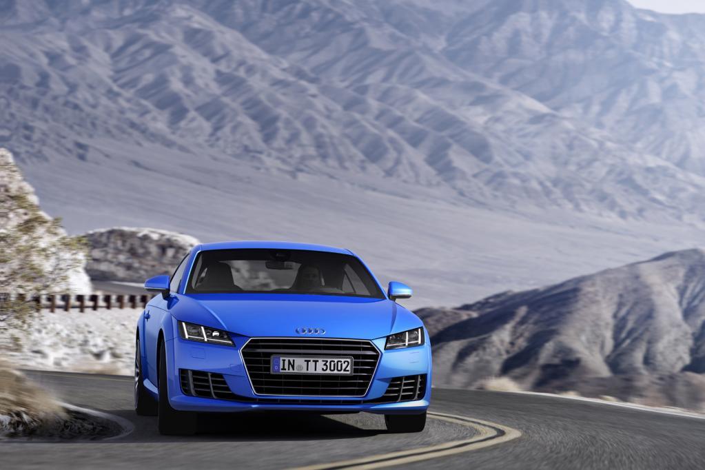 Audi TT Coupé: Leichtbau-Leckerbissen