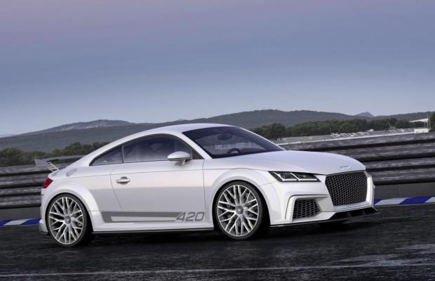 Audi gibt Ausblick auf Top-Modell des TT