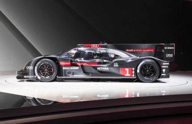 Audi präsentiert R18 im Stadtverkehr von Le Mans