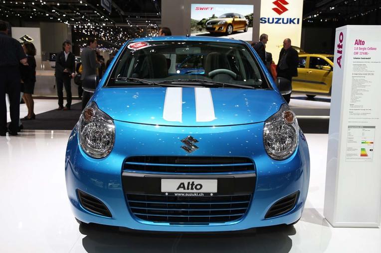 Aus der Sergio-Cellano-Kollektion: Suzuki-Mini Alto.