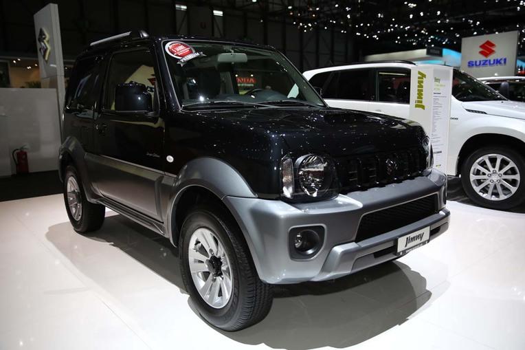 Aus der Sergio-Cellano-Kollektion: Suzuki-Mini Jimny