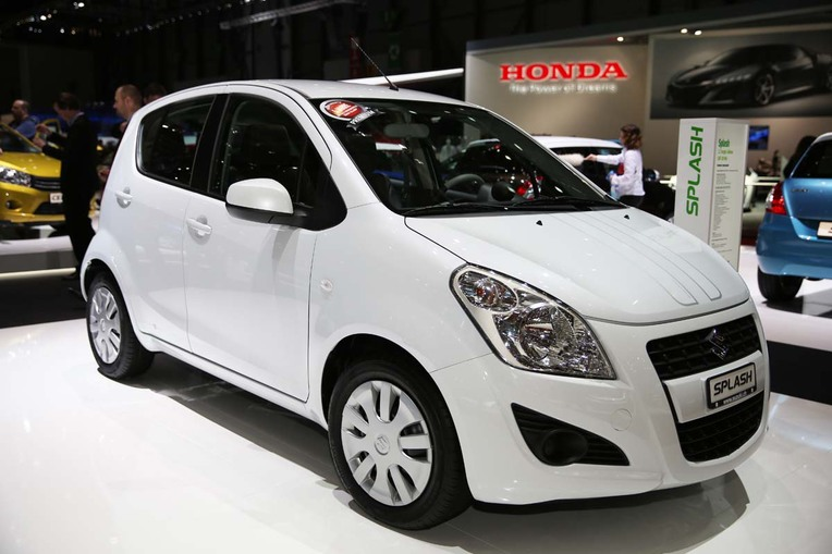 Aus der Sergio-Cellano-Kollektion: Suzuki-Mini Splash.