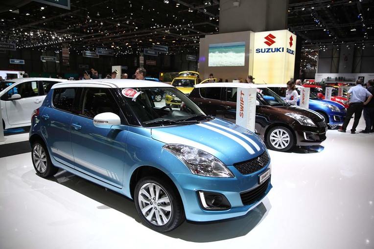 Aus der Sergio-Cellano-Kollektion: Suzuki-Mini Swift 4x4.