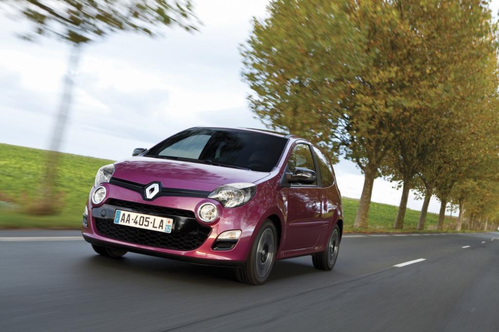 Beim Faclift 2012 besserte Renault an der Gestaltung nach - die Front sieht jetzt wieder merh nach Kulleraugen aus
