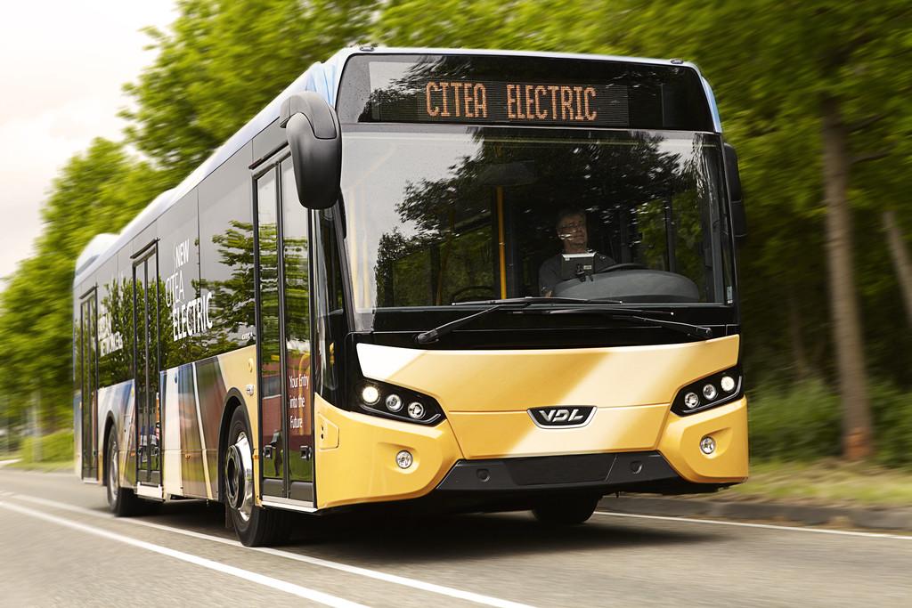 Bus mit Radnabenantrieb geht in Münster auf die Linie
