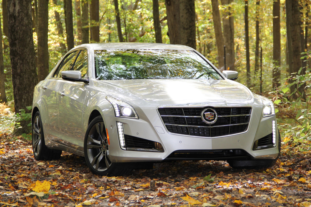 Cadillac CTS: Klare Kante