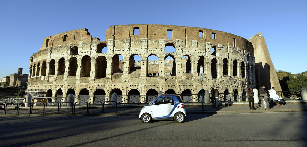 Car2go auch in Rom