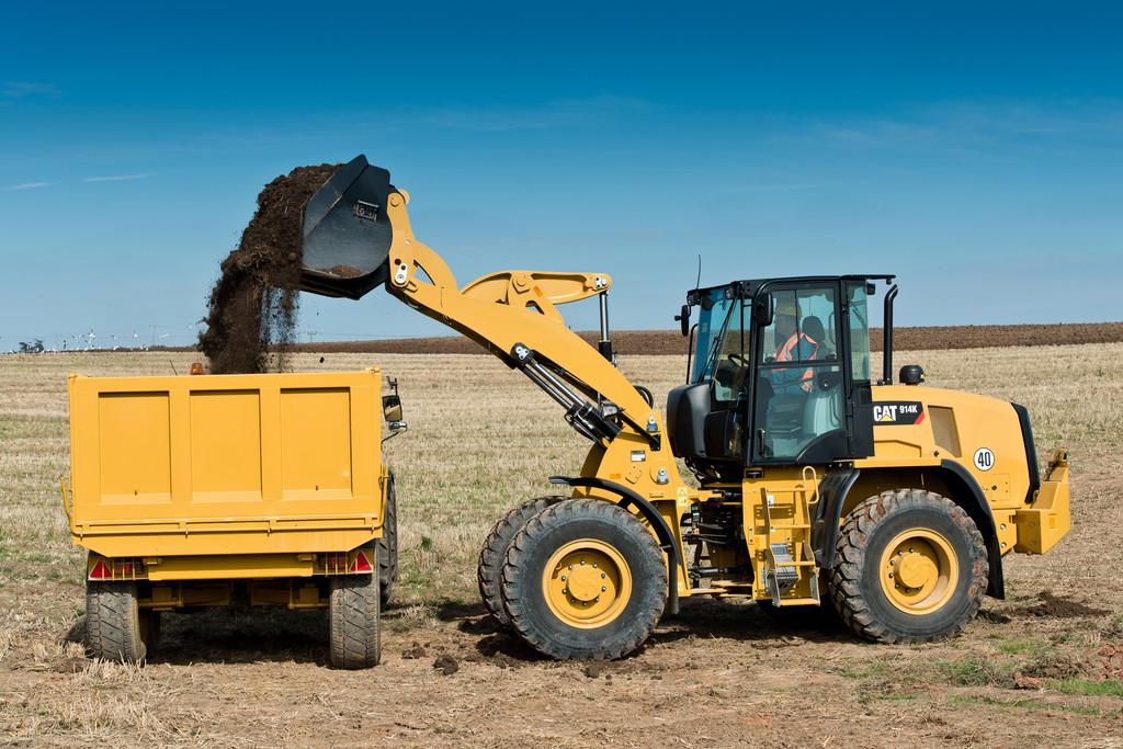 Cat 910K und 914K ersetzen G2