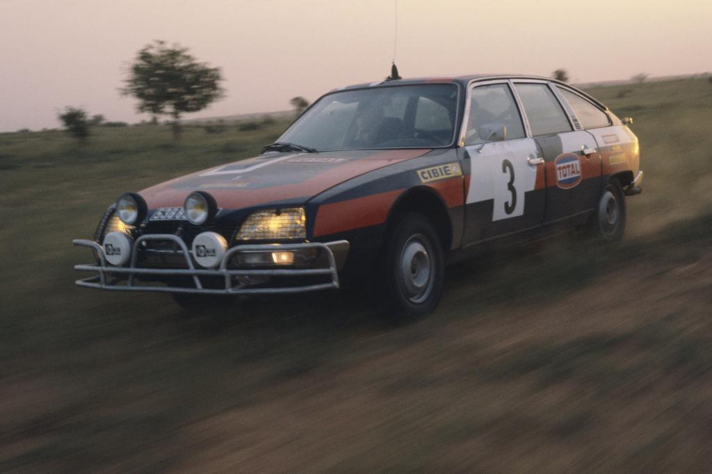 Citroen CX 2400 GTI bei Rallye Senegal 1977