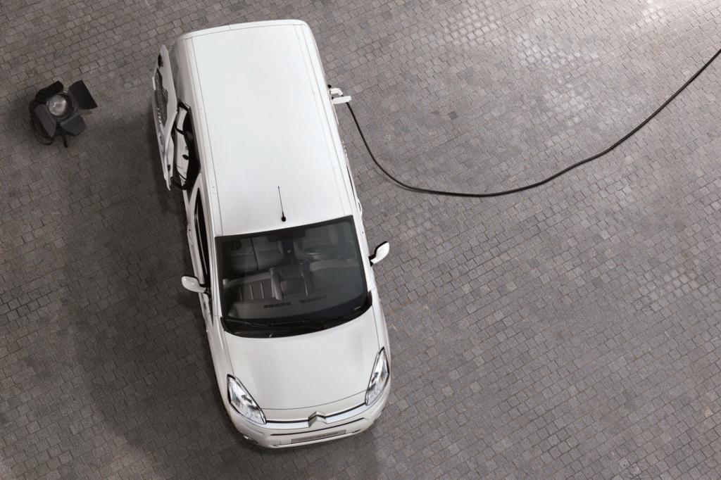 Citroen erweitert sein Lieferwagenangebot um den elektrisch angetriebenen Berlingo Electric