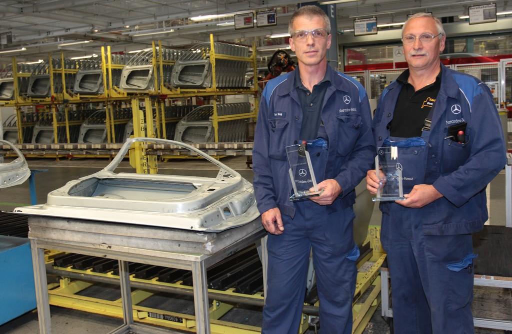 Daimler: Mitarbeiter-Ideen sparen 74,8 Millionen Euro