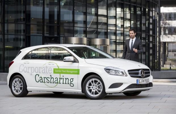 Daimler managt Carsharing in der Firma