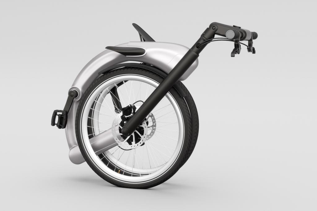 Das Jive E-Bike  will mit seinem gekapselten und kettenlosen Antrieb der perfekte Begleiter für Pendler sein, die mit sauberen Hosenbeinen zur Arbeit kommen wollen und ihr Fahrrad auch mal im Auto oder im öffentlichen Verkehr mitnehmen.