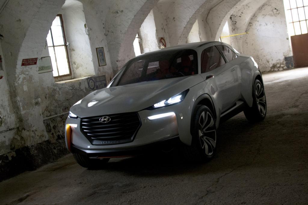 Der Hyundai Intrado setzt auf Brennstoffzellentechnik