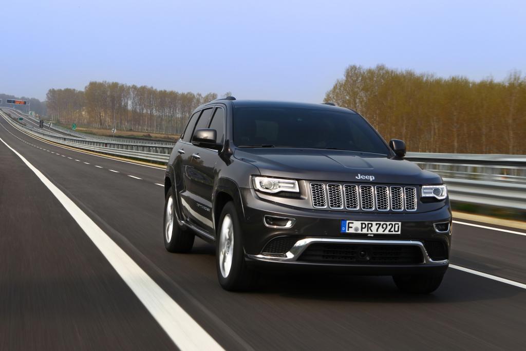 Der Jeep Grand Cherokee präsentiert sich als echtes amerikanisches Auto