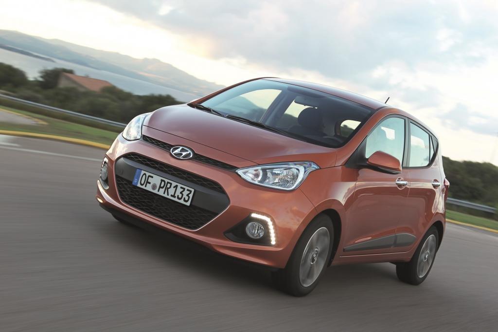 Der Kleinstwagen Hyundai i10 ist jetzt auch in einer Autogasversion erhältlich. - Foto: Hyundai