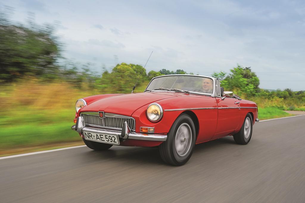 Der MGB wurde Britanniens erfolgreichster Sportwagen